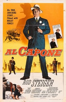 Al Capone movie poster (1959) poster MOV_164f328e