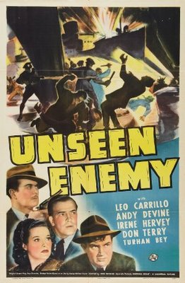 Unseen Enemy movie poster (1942) poster MOV_1651b8d3