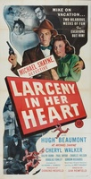 Larceny in Her Heart movie poster (1946) picture MOV_166f5fca
