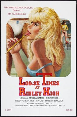 Loose Times at Ridley High movie poster (1984) poster MOV_1679d6e7