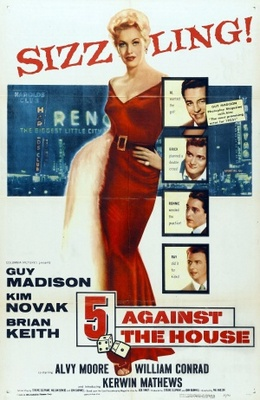 5 Against the House movie poster (1955) poster MOV_16b28fe5