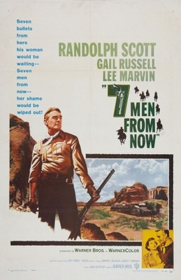 Seven Men from Now movie poster (1956) poster MOV_16b33f81