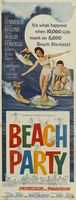 Beach Party movie poster (1963) picture MOV_16c608ec