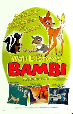 Bambi movie poster (1942) poster MOV_16e1fd92