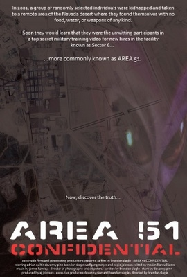 Area 51 Confidential movie poster (2011) poster MOV_1728402e