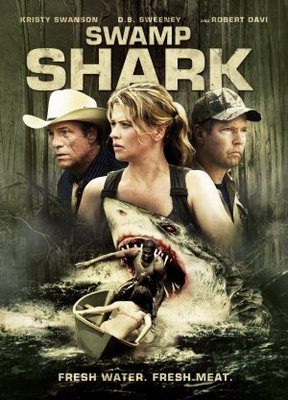 Swamp Shark movie poster (2011) poster MOV_172e86fd