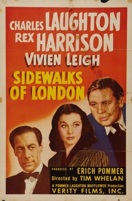 Sidewalks of London movie poster (1939) poster MOV_173c6838
