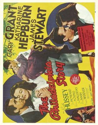 The Philadelphia Story movie poster (1940) poster MOV_17429069