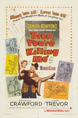 Stop, You're Killing Me movie poster (1952) poster MOV_1745bf85