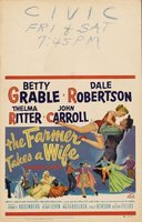 The Farmer Takes a Wife movie poster (1953) picture MOV_174b7f62