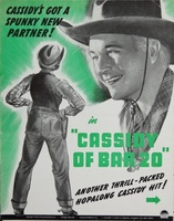Cassidy of Bar 20 movie poster (1938) picture MOV_17536adf