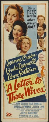 A Letter to Three Wives movie poster (1949) poster MOV_176bcffa