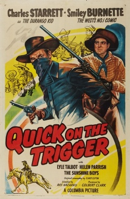 Quick on the Trigger movie poster (1948) poster MOV_177721ad