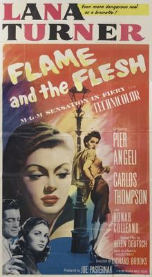 Flame and the Flesh movie poster (1954) poster MOV_177e18bc