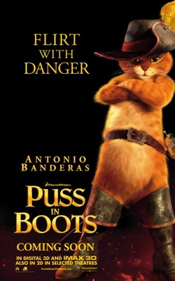 Puss in Boots movie poster (2011) poster MOV_17ae164a