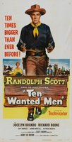 Ten Wanted Men movie poster (1955) picture MOV_17b45fe2