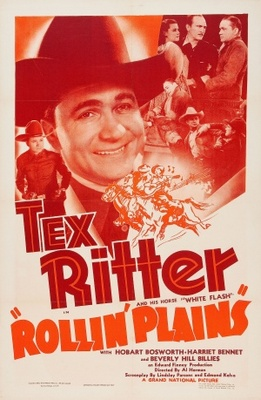 Rollin' Plains movie poster (1938) poster MOV_17b491f3