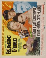 Magic Fire movie poster (1956) picture MOV_17cd063c