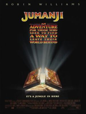 Jumanji movie poster (1995) poster MOV_17de073c