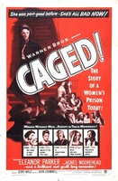 Caged movie poster (1950) picture MOV_180617a8
