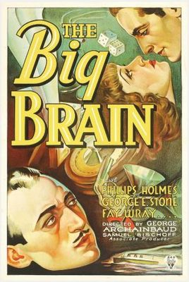 The Big Brain movie poster (1933) poster MOV_1818b5a7