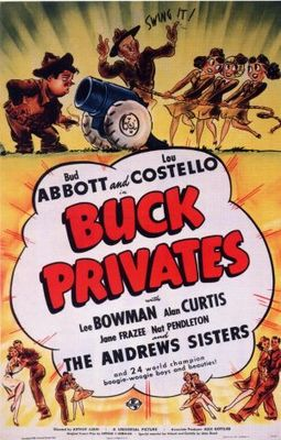 Buck Privates movie poster (1941) poster MOV_181e916c