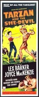 Tarzan and the She-Devil movie poster (1953) picture MOV_182a665b