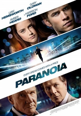 Paranoia movie poster (2013) poster MOV_1841688e