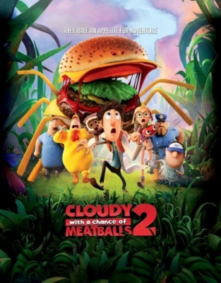 Cloudy with a Chance of Meatballs 2 movie poster (2013) poster MOV_18686781