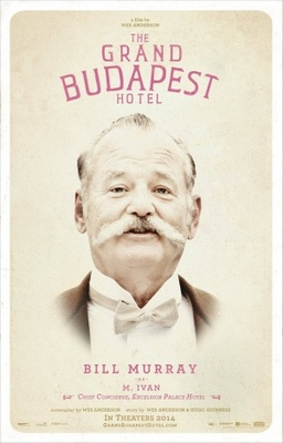 The Grand Budapest Hotel movie poster (2014) poster MOV_186a9c4f