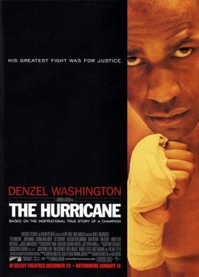 The Hurricane movie poster (1999) poster MOV_186dc8b9