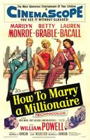 How to Marry a Millionaire movie poster (1953) picture MOV_186f2ecd