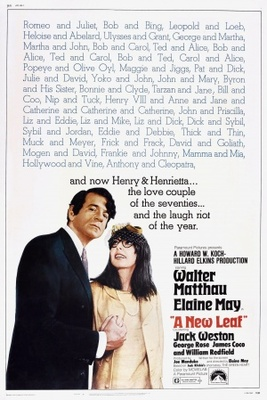 A New Leaf movie poster (1971) poster MOV_18710842