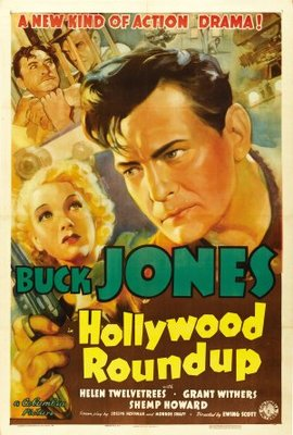 Hollywood Round-Up movie poster (1937) poster MOV_18917016