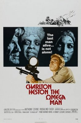 The Omega Man movie poster (1971) poster MOV_189f4f54
