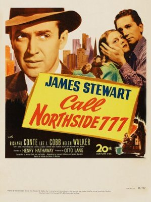 Call Northside 777 movie poster (1948) poster MOV_18aaa8f1