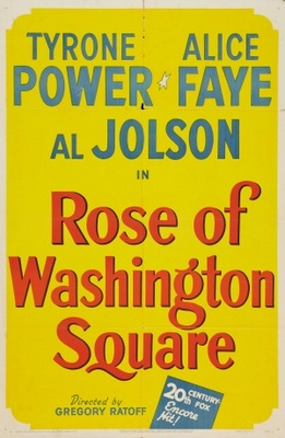 Rose of Washington Square movie poster (1939) poster MOV_18b8b07e