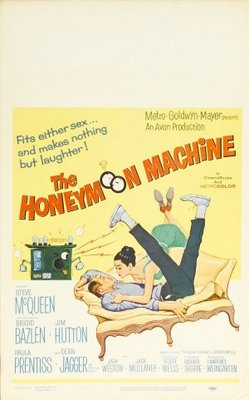 The Honeymoon Machine movie poster (1961) poster MOV_18cb1294