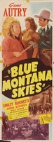 Blue Montana Skies movie poster (1939) picture MOV_18ef59f6