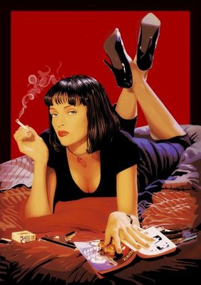 Pulp Fiction movie poster (1994) poster MOV_18fecf5c