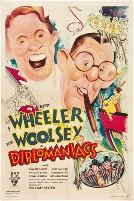 Diplomaniacs movie poster (1933) poster MOV_190fec80