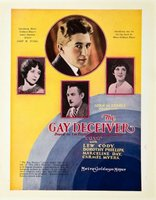 The Gay Deceiver movie poster (1926) picture MOV_19225347
