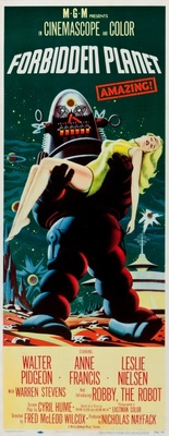 Forbidden Planet movie poster (1956) poster MOV_1930f6bf