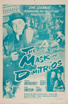 The Mask of Dimitrios movie poster (1944) poster MOV_1935d102