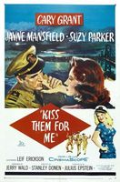 Kiss Them for Me movie poster (1957) picture MOV_1939fb7b