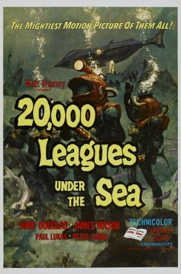 20000 Leagues Under the Sea movie poster (1954) poster MOV_193a7b60