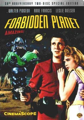 Forbidden Planet movie poster (1956) poster MOV_196e965f