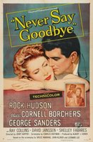 Never Say Goodbye movie poster (1956) picture MOV_19796a0f