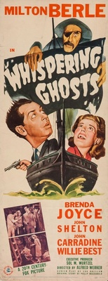 Whispering Ghosts movie poster (1942) poster MOV_198e023d