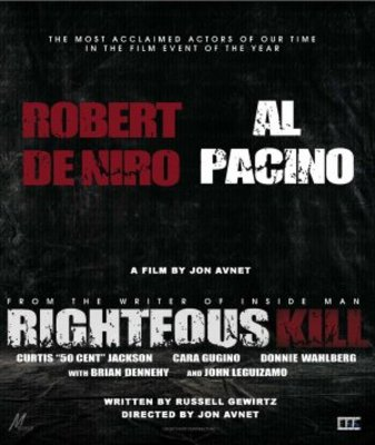 Righteous Kill movie poster (2008) poster MOV_19e7fd11